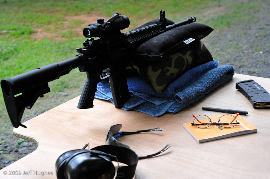 Colt AR-15 on the Bench